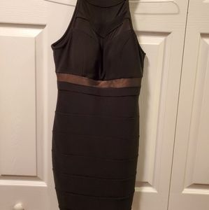 Honey and Rosie black bodycon dress medium